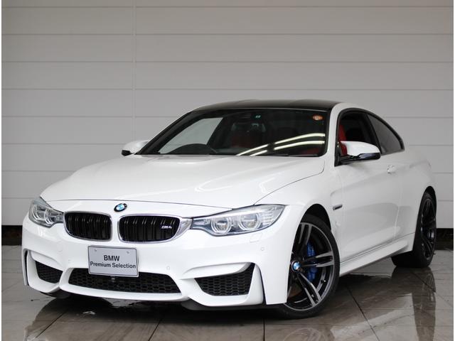 BMW M4クーペ 認定中古車 赤レザー HIFIスピーカー
