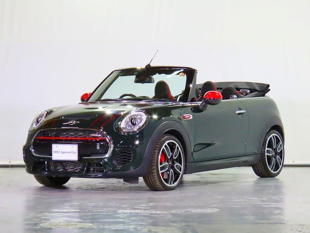 MINI MINI ジョンクーパーワークス コンバーチブル Yoursソフトトップ ヘッドアップディスプレイ シートヒーター DSRC 認定中古車