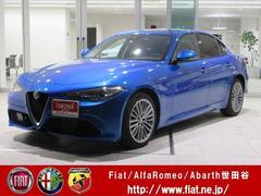 アルファロメオ ジュリアヴェローチェ 弊社試乗車 メーカー保証 ブラックレザーシート