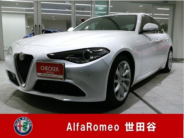 アルファロメオ スーパー 正規ディーラーデモカーアップ ブラックレザー 禁煙