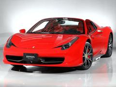 フェラーリ 458スパイダーF1 DCT CORNES芝 Ferrari認定中古車