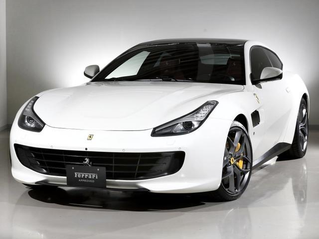 T  Ferrari認定中古車パノラマルーフ(1枚目)