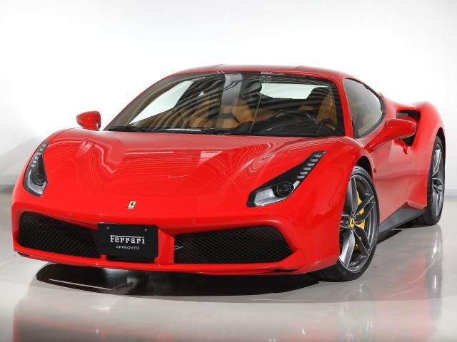 フェラーリ F1 DCT CORNES芝 認定中古車
