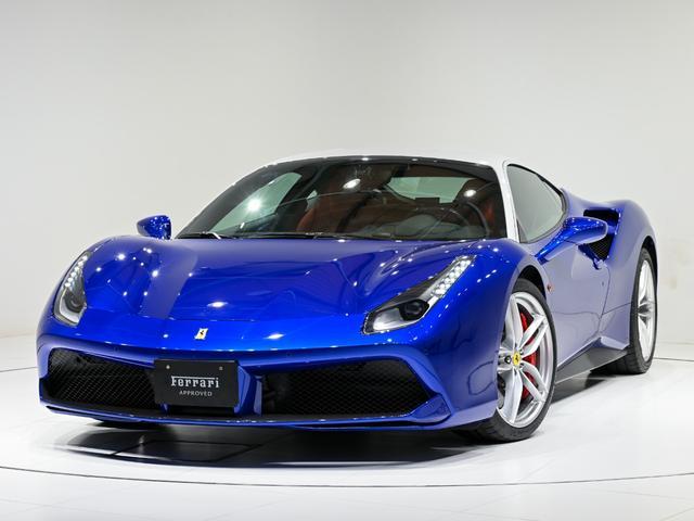 フェラーリ F1 DCT CORNES芝 特注カラー ツートン外装