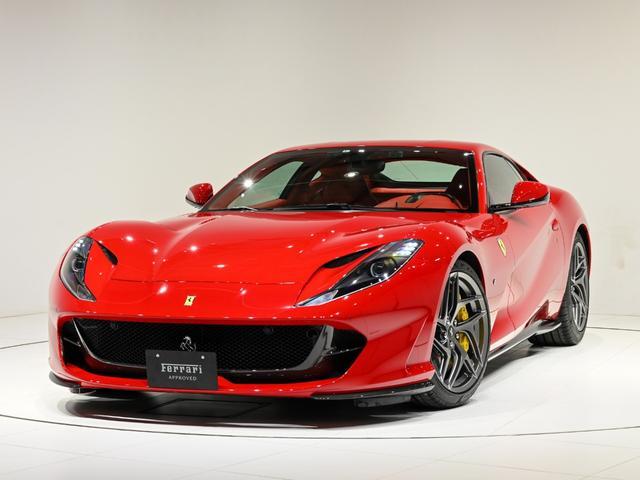 フェラーリ F1 DCT 認定中古車 特注色 Rosso70th