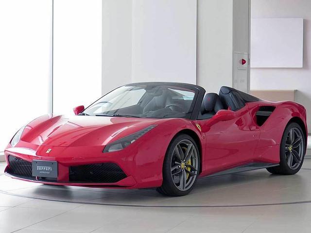 フェラーリ F1 DCT CORNES認定中古車