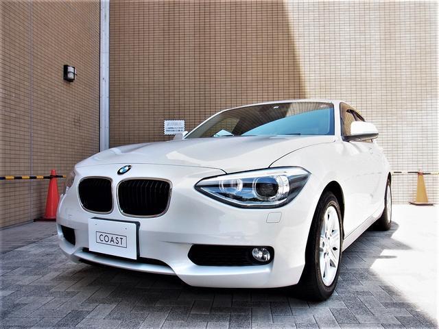 BMW 116iオイスターレザー シートヒーター 純正ナビ キセノン