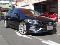 ボルボ V60T6 AWD POLE STAR 1オーナサンルーフ限定40