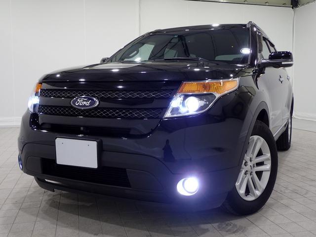 フォード XLT エコブーストEXC限定1オナFSBカメHID黒革SR