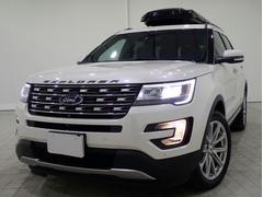 フォード エクスプローラーリミテッド1オナPテールLED保継承FSBカメSR革席クーラ