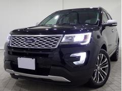 フォード エクスプローラータイタニアム4WD保継1オナ純ナビTV本革冷熱席広角モニタ