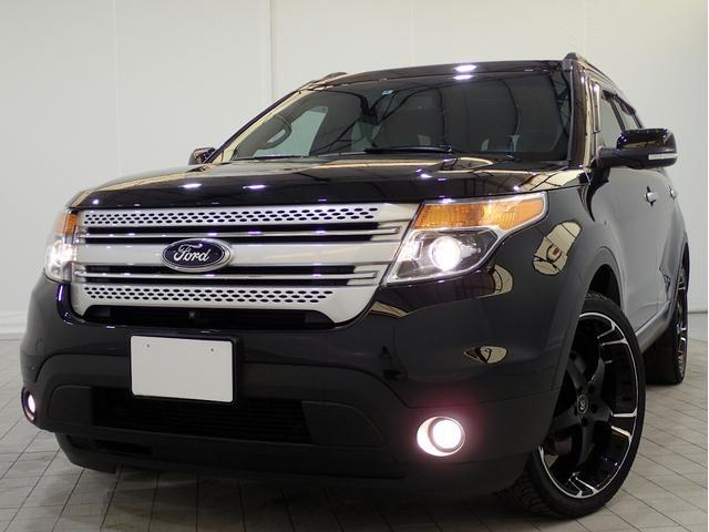フォード XLT エコブーストエクスクルーシブ限定車22AW黒革2SR