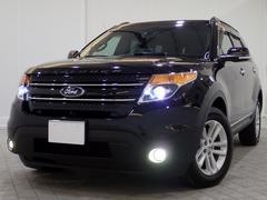 フォード エクスプローラーリミテッド 4WD 1オナSRナビTVキセノン電リアBカメ革