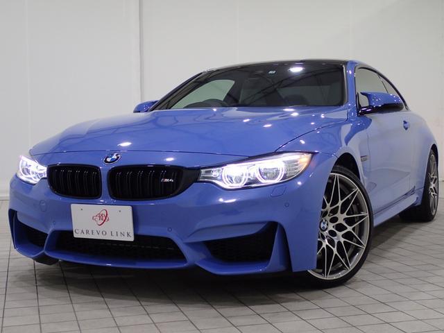 BMW M4クーペコンペティション 1オナ禁煙DアシストアダプMサス