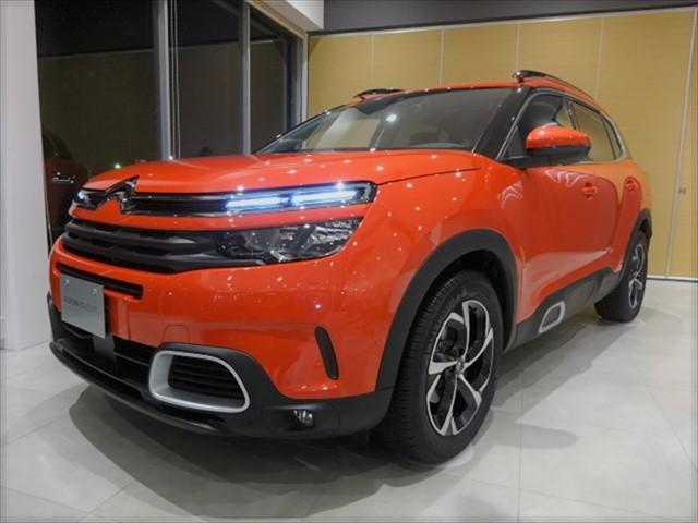 シトロエン C5エアクロス シャイン ディーゼルターボ新車保証継承 半皮carplay