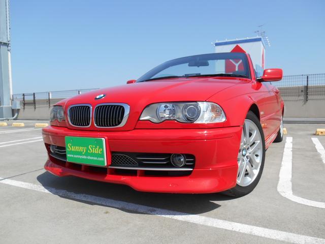 BMW 330Ciカブリオーレ 黒革 社外ナビ ETC キセノン