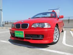 BMW330Ciカブリオーレ 黒革 社外ナビ ETC キセノン