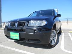 BMW X32.5i ブラックレザー HDDナビ バックカメラ