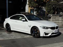 BMWM4クーペ 左H 6MT ソノマベージュシート 禁煙車