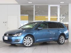 VW ゴルフヴァリアントTSIハイライン キセノン ナビ ETC RC 1オーナー