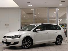 VW ゴルフヴァリアントTSI HL DCC ナビ ETC パール