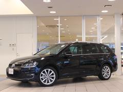 VW ゴルフヴァリアントTSI HL BMT ナビ ETC ワンオーナー