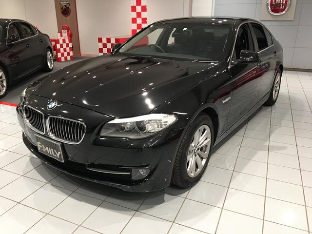 BMW 5シリーズ 523iモダン 純正NAVI ETC Bカメラ ブラックレザーS Sヒーター