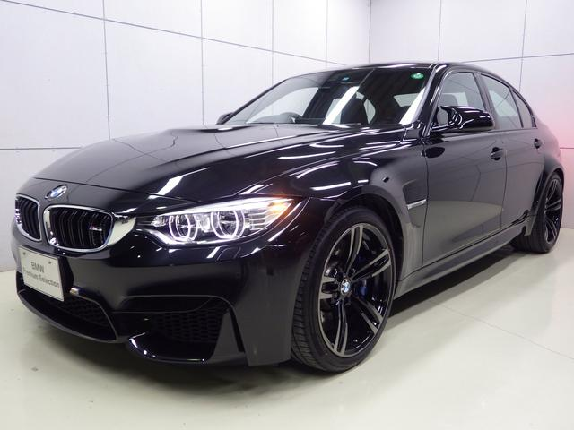 BMW M3 19インチAW レザーシート 正規認定中古車