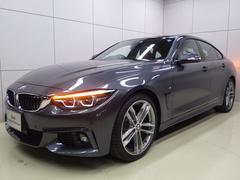 BMW420iグランクーペ Mスポーツ コニャックレザーシート