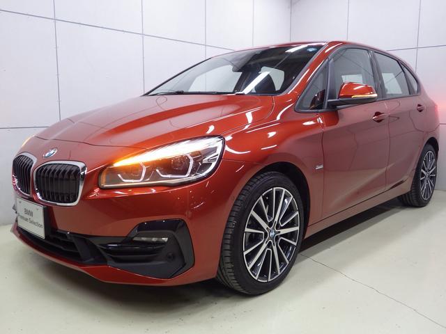 BMW 218dアクティブツアラー スポーツ 正規認定中古車