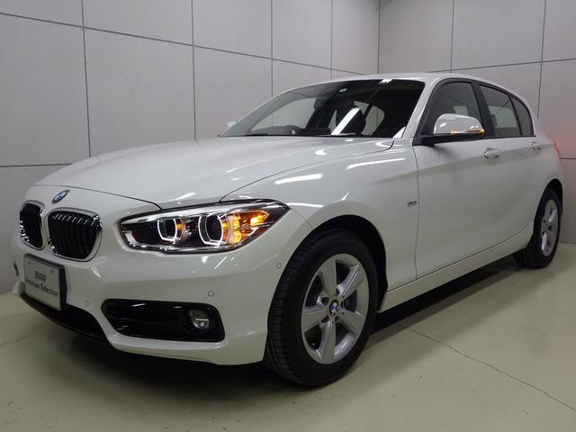 BMW 118d スポーツ パーキングサポートP 正規認定中古車