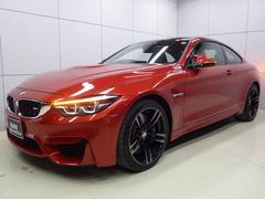 BMW M4M4クーペ サキールオレンジレザー 正規認定中古車