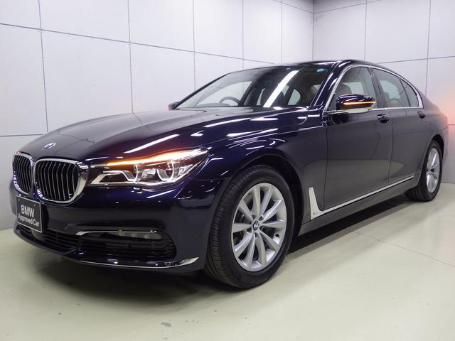 BMW 740i コニャックレザーシート 正規認定中古車