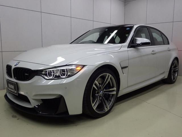 BMW M3 サキールオレンジレザーシート 正規認定中古車