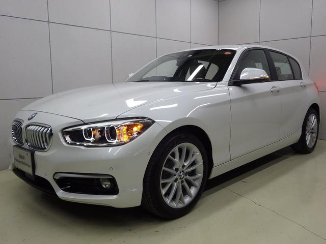 BMW 118d ファッショニタ オイスターレザー 正規認定中古車
