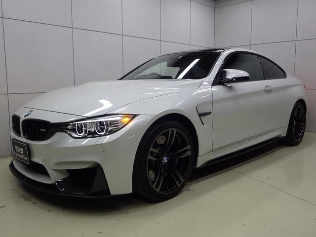 BMW M4クーペ 6速マニュアルトランスミッション 正規認定中古車