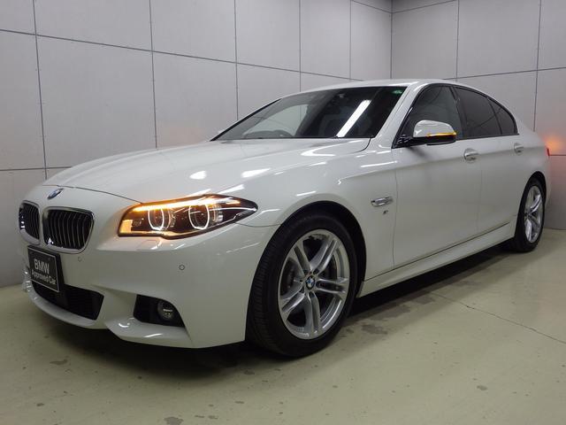 BMW 5シリーズ 528i Mスポーツ アクティブクルーズコントロール シナモンブラウンレザーシート 正規認定中古車