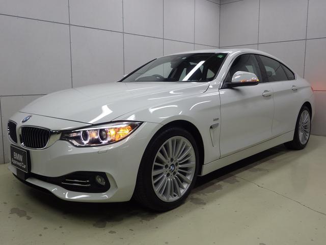 BMW 420iグランクーペ ラグジュアリー アクティブクルーズコントロール ブラックダコタレザーシート ガラスサンルーフ 正規認定中古車