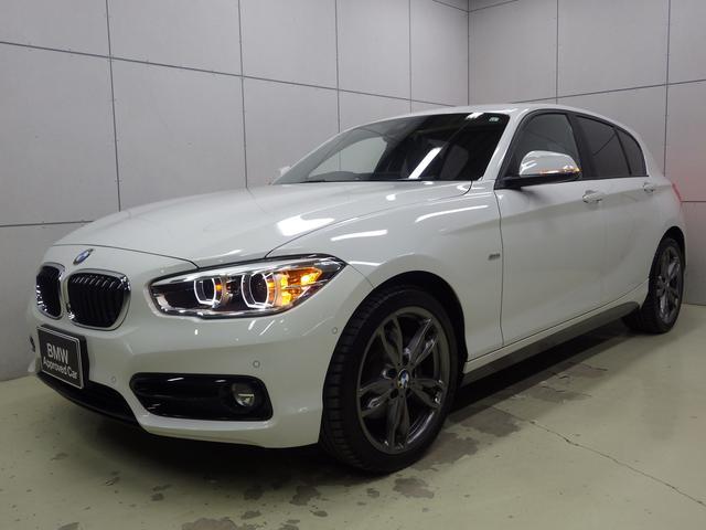 BMW 118d スポーツ HDDナビ クルーズコントロール ETCミラー 18インチAW 正規認定中古車