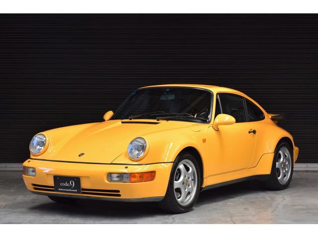 ポルシェ 911ターボ 3.3 1992年モデル 記録簿・保証書付属