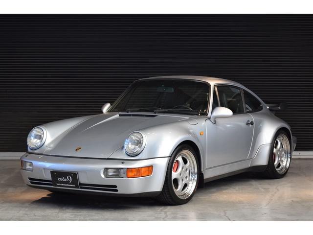 ポルシェ 911ターボ 3.6 ディーラー車 記録簿付