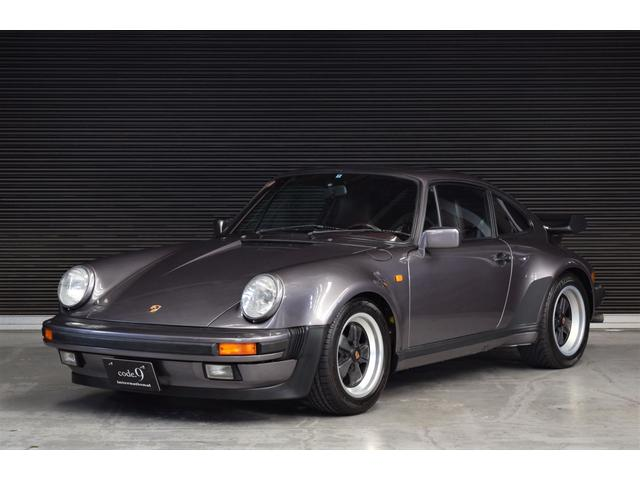 ポルシェ 911ターボ 3.3 ディーラー車 保証書・記録簿付属