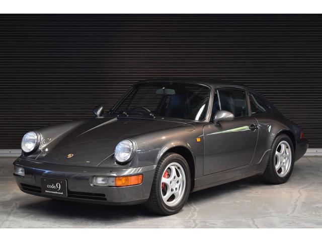 ポルシェ 911 911カレラ2 Tip 右ハンドル 1992年モデル 新車保証書付属