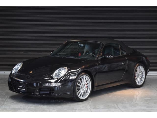 ポルシェ 911カレラ カブリオレ MT スポーツエグゾースト 新車保証書/記録簿付属