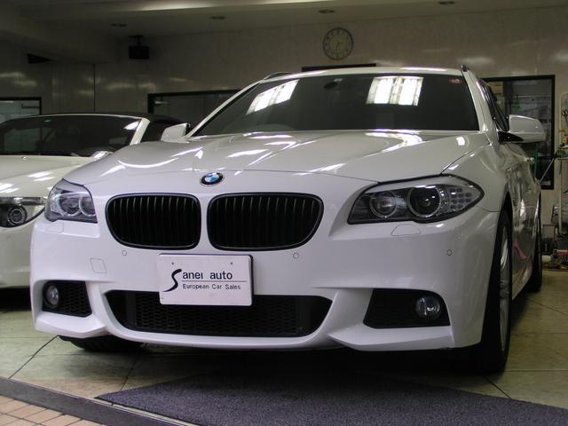 BMW 528iツーリング Mスポーツパッケージ パノラマ 黒革