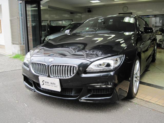 BMW 650iグランクーペ Mスポーツパッケージ 19インチAW ガラスサンルーフ