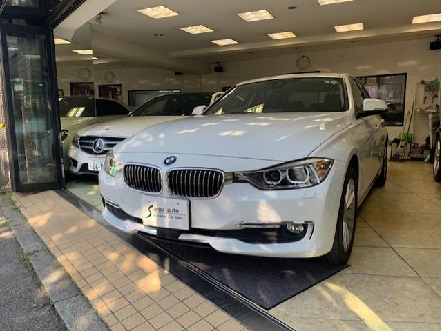 BMW 320d ラグジュアリー ブラックレザー・認定中古車