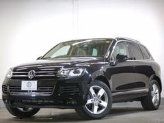 VW トゥアレグハイブリッド 4WD エアサス 電動Rゲート ベージュ革