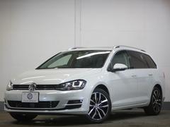 VW ゴルフヴァリアントTSIハイライン パノラマサンルーフ 黒革 DCC 2年保証