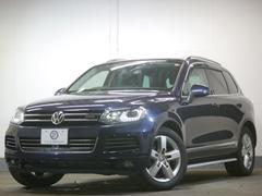 VW トゥアレグハイブリッド ルーフレールP テクノロジーP 黒革 2年保証